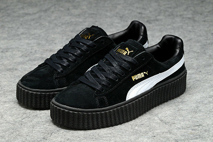 Puma FENTY Suede Creepers black-star white-black, 38,5 (5.5) NEW