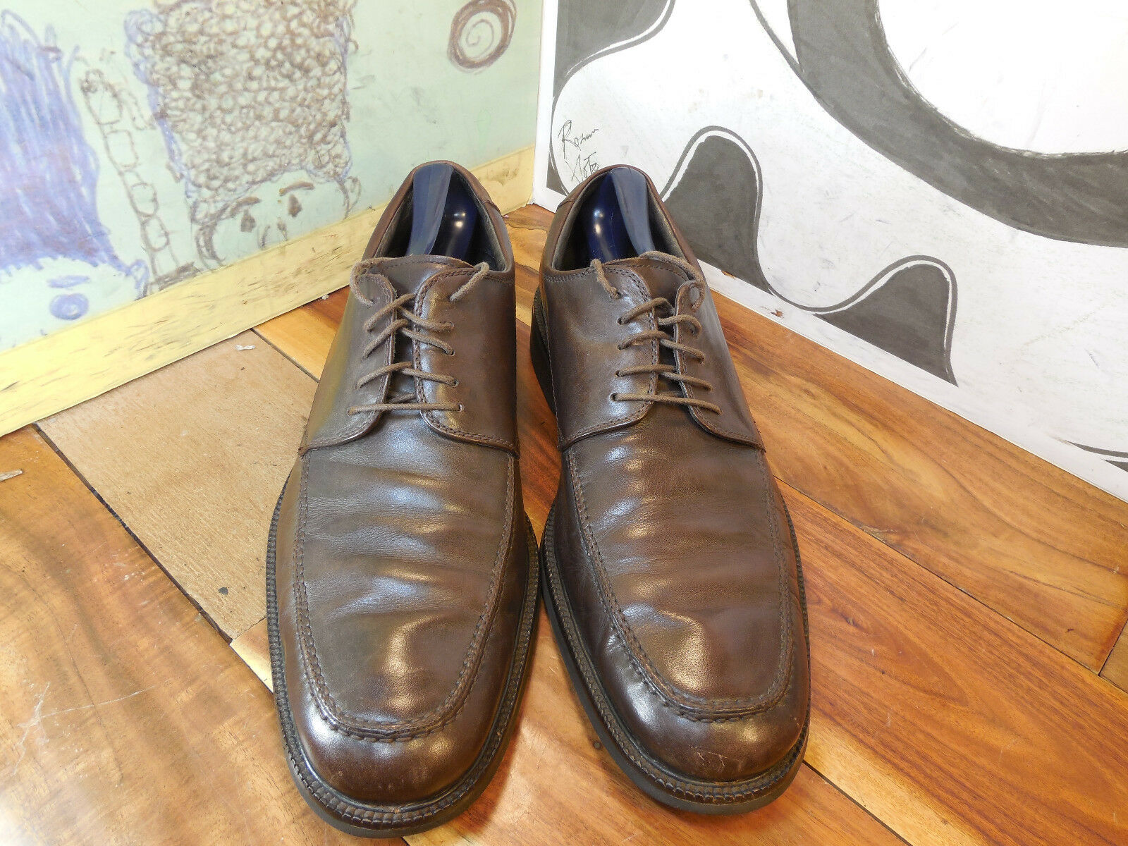 Men's/Women's Johnston & Murphy Brown Leather Oxfords Men's 10.5M choose  for you to choose 10.5M Comfortable touch Different styles VG383 5e6ecb