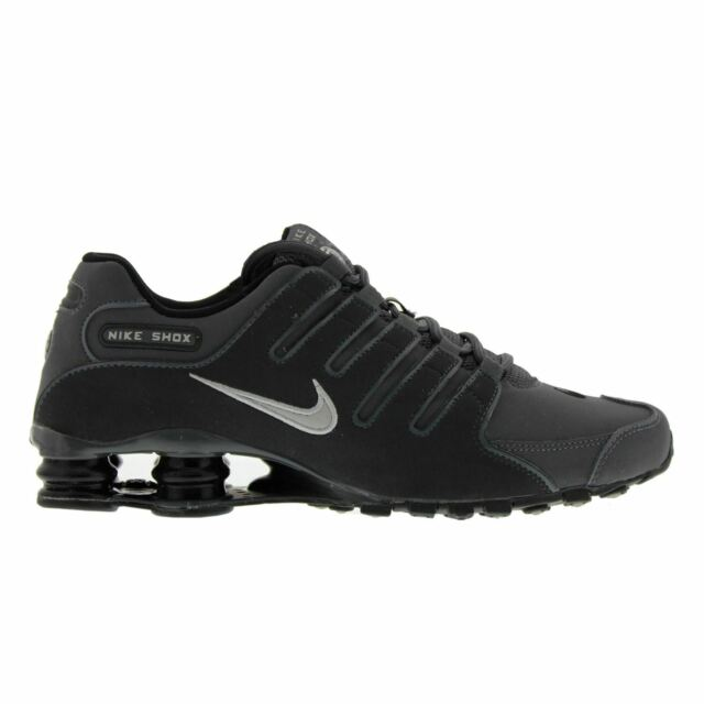 new products fc51b a7ea3 Nike Shox NZ 8.5 Men's Marathon Running Shoes Dark Grey Anthracite 378341