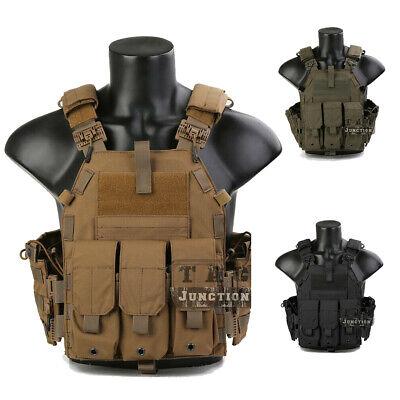 Details about  /Emerson LBT-6094 Tactical Vest Armor Lightweight Assault Combat Plate Carrier