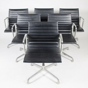 herman miller eames aluminum group executive task chairs black 6x