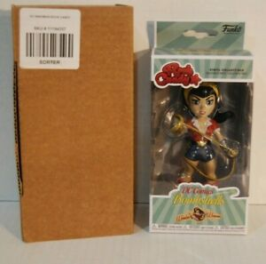 Funko Rock Candy-DC Comics Bombshells-Wonder Woman-Vinyl nuevo