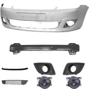 Set-Kit-Stossstange-vorne-Ford-Fiesta-5-V-JH-JD-Bj-05-10-Traeger-Zubehoer-Nebel