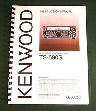 Card Stock Covers /& 32 LB Paper! Kenwood TS-570S TS-570D Instruction manual