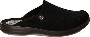 Flyflot-zapatillas-de-casa-pantuflas-Cord-textil-negro-nuevo-hauspuschen