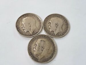 King George V Silver Threepence 1911-1936 Choose your year