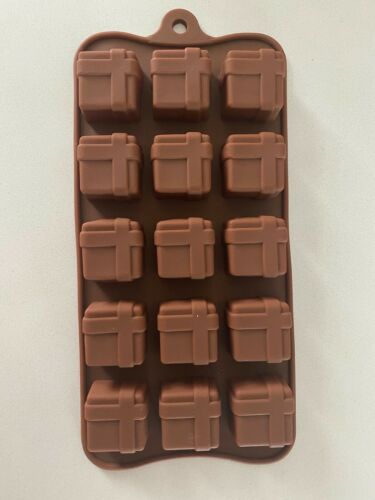 Details about  /Gift Box  Silicone Soap mold Candy Chocolate Fondant mould