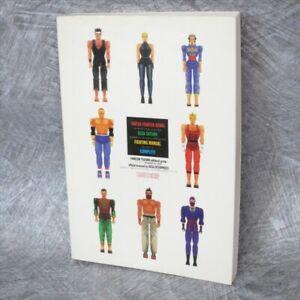 VIRTUA FIGHTER REMIX Sega Saturn Fighting Manual Complete Guide Book 1995 AP*