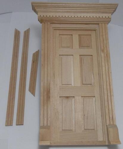 DOOR GEORGIAN 6 PANEL DOOR OR FAIRY DOOR