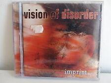 CD ALBUM VISION OF DISORDER Imprint RR 8796 2  HARDCORE