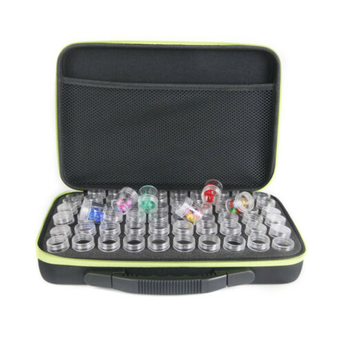 Storage Bag For Diamond Painting Beads Accessories Case Container Tools 60 Slots