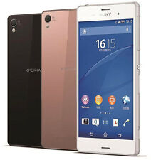 """New Unlocked Sony Xperia Z3 D6603 16GB 5.2"""" 20.7MP NFC Android  Smartphone White"""
