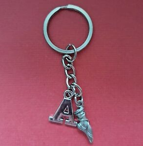 Ballet-Keyring-and-Initial-Letter-A-to-Z-Keychain-Dance-personalised-gift