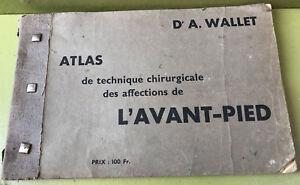 Atlas Technique Chirurgicale Affections De L'avant Pied 1933 Wallet Orthopedie Oqdk9tq7-10130523-489597916