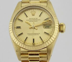ROLEX-OYSTER-PERPETUAL-DATEJUST-LADIES-18K-GOLD-6917