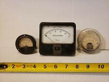 Lot Simpson Pace Weston Misc Panel Meters Vintage Old Gauge
