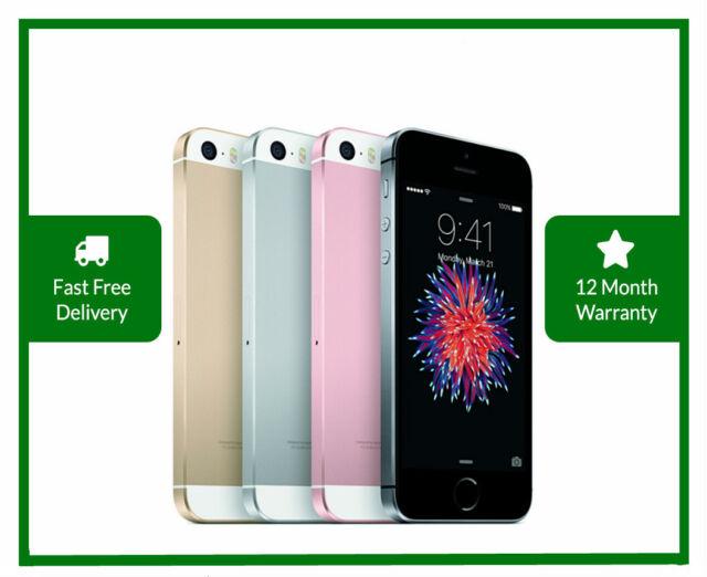 "Apple iPhone SE 16/32/64/128GB Smartphone 1st-Gen 4"" - Factory Unlocked - New US"
