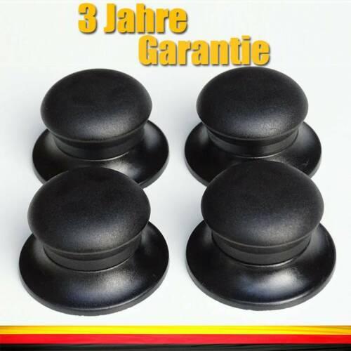 4 Topfdeckel Ersatz Knopf Griff für Glas Deckel Kochgeschirr Küche Universal Neu