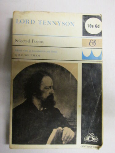 1 of 1 - Acceptable - Selected Poems - Tennyson, Alfred 1967-08-01 Highlighting/underlini