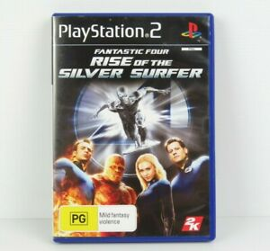 Fantastic-Four-Rise-of-the-Silver-Surfer-PS2-PlayStation-2-Game-Complete-PAL