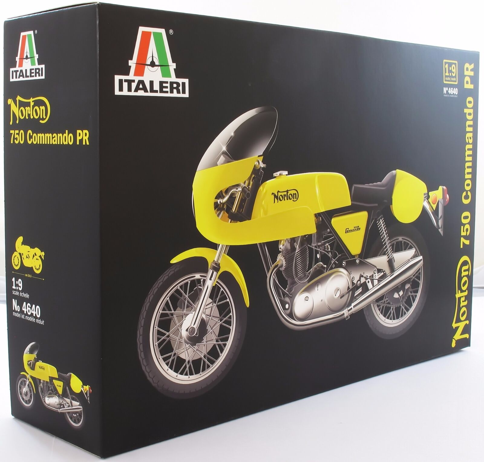 Italeri 1 9 4640 Norton Commando 750cc Model Motorcycle Kit