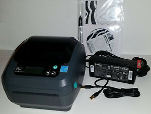 Details about Zebra GX420D Label Thermal Printer GX42-202710-000 WiFi  802 11, USB, Serial