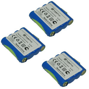 3x-Batterie-700-mAh-4-8-V-Ni-MH-remplace-DeTeWe-simballey-mt700d03xxc-px-1755-px-1761