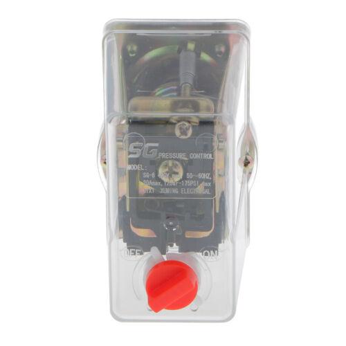 3-fase de un solo puerto Compresor de aire interruptor de presión Válvula de control SG-6A