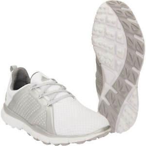 Details zu Adidas Damen Climacool Cage Schuhe Golf Women Weiß Grau Ladies Shoes Sport