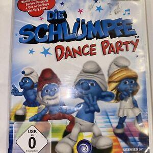 La los Pitufos: Dance Party (Nintendo Wii, 2011, DVD-box)