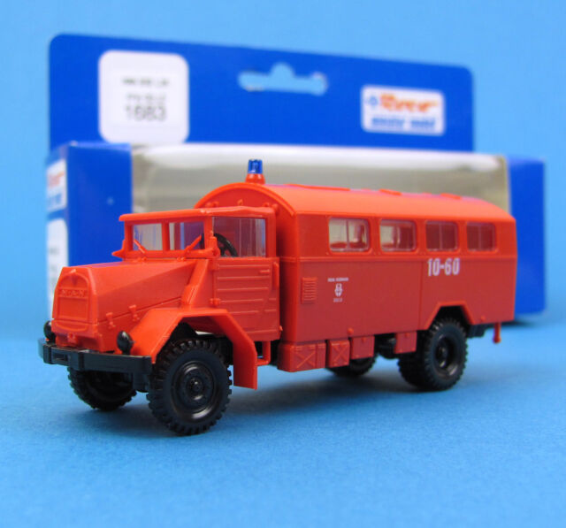 Roco H0 1683 MAN 630 L2A Koffer Feuerwehr Celle LKW HO 1:87 OVP