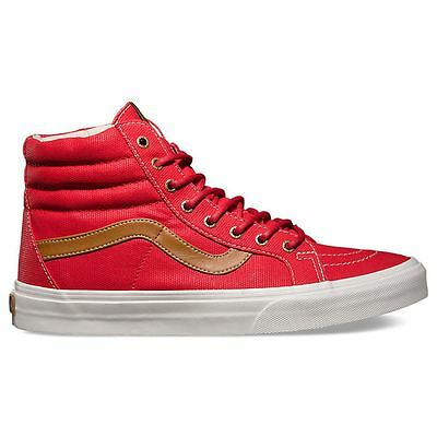 Vans Classic Sk-8 Hi Reissue Red Womens Trainers