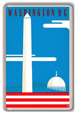 WASHINGTON DC USA SERIES FRIDGE MAGNET SOUVENIR NEW