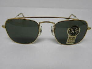 47769a7fd8c5e New Vintage B L Ray Ban Classic Collection Style 5 W1344 Square ...