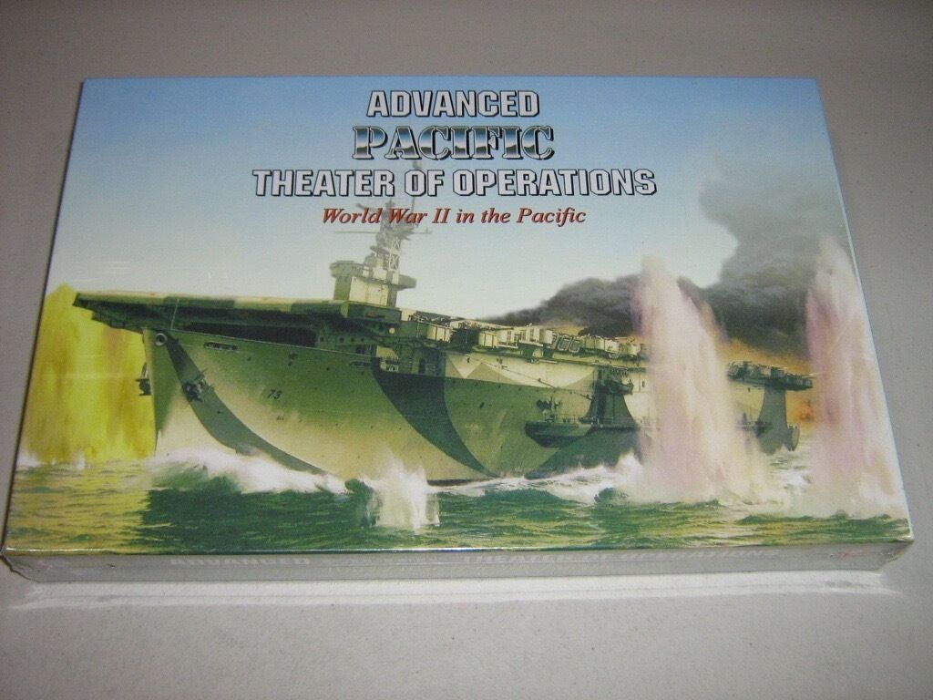 Avancerat Pacific Theater of Operations  Andra världskriget i Stillahavsområdet (Ny)