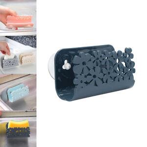 Dish-Cloths-Rack-Suction-Cup-Sponge-Holder-Clip-Rag-Kitchen-Tool-Storage-Rack-NE
