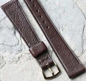 Genuine-Goatskin-watch-band-17-3mm-11-16-vintage-1960s-70s-by-Speidel-USA-5-sold