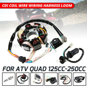 kit-Regulateur-Bougie-d-039-allumage-Solenoide-CDI-125-150-200-250CC-Moto-Pit-Bike