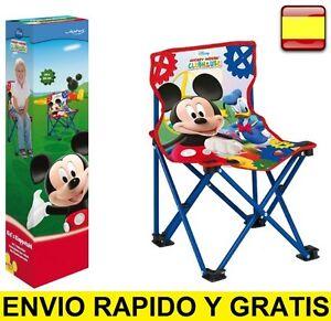 Silla Para Camping Playa De Niños Infantil Jardin Detalles Plegable OkXuPZiT