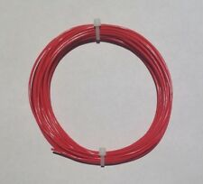 22 Awg 600v Mil Spec Wire Ptfe Red Stranded Silver Plated Copper 25 Ft
