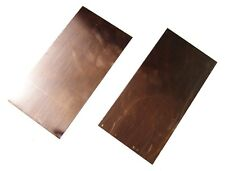 New Copper Sheet Two 4 X 8 Pieces Metal Working 16 Oz 24 Gauge Crafts