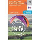 Buckingham and Milton Keynes by Ordnance Survey (Sheet map, folded, 2015)