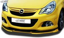 RDX Front Spoiler OPEL Corsa D Facelift OPC 2010+ Nuerburgring Edition
