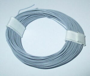 1m-17-9-CT-Highly-Flexible-0-04-mm-Decoder-Wire-Cable-Gray-10m-Ring-gt-Neu