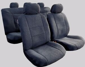 Awesome Details About For Toyota Hilux Charcoal Sheepskin Suede Seat Cover Universal Australia Size Forskolin Free Trial Chair Design Images Forskolin Free Trialorg
