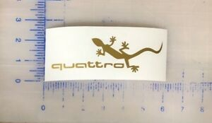 Details about Audi Quattro Decal 3 5