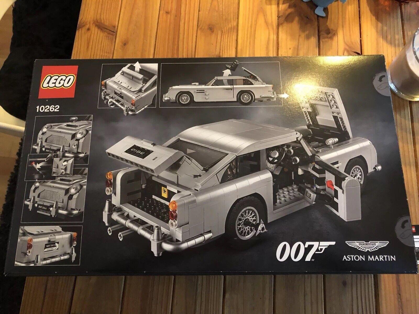 LEGO® Creator 10262 James Bond™ Aston Martin DB5 DB5 DB5 NEU & OVP Limited Edition b3fd0f