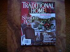 Traditional Home Magazine November/December 2013