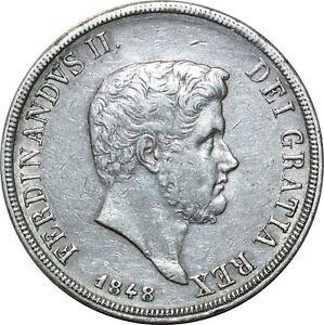 O1802-Italie-Ferdinando-II-di-Borbone-1830-1859-Piastra-120-Grana-1848-Silver