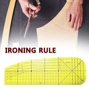CHENJJ Hot Ironing Ruler Patch Tailor Craft DIY Sewing Supplies Measuring Handmade Tool